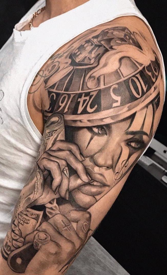 Tatuagens-de-palhaço-19