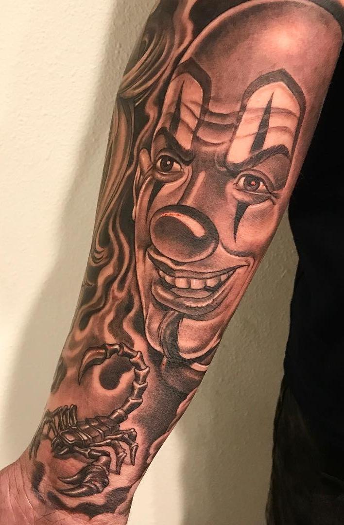 Tatuagens-de-palhaço-6