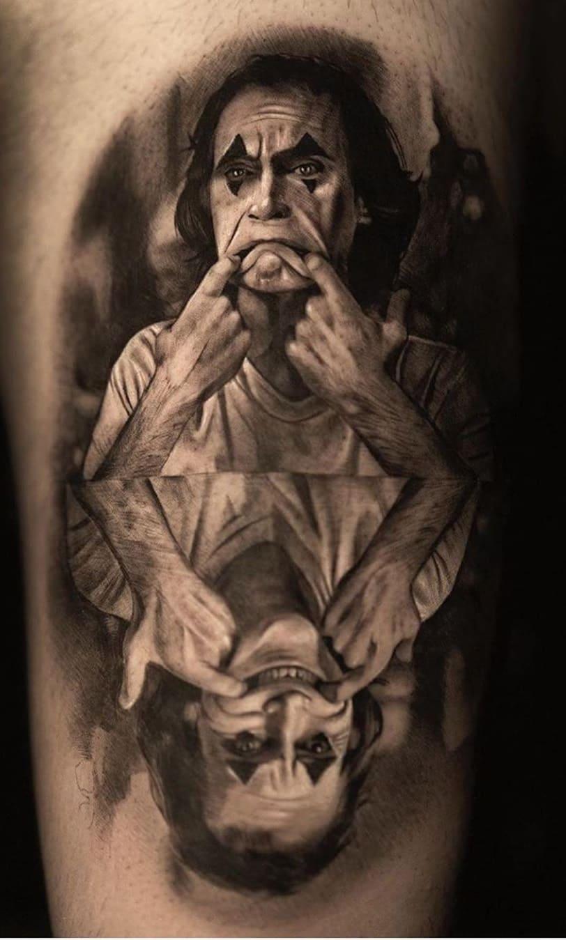 Tatuagem-realista-do-Coringa