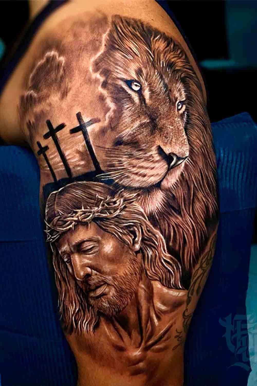 tatuagem-de-leao-e-jesus-2021