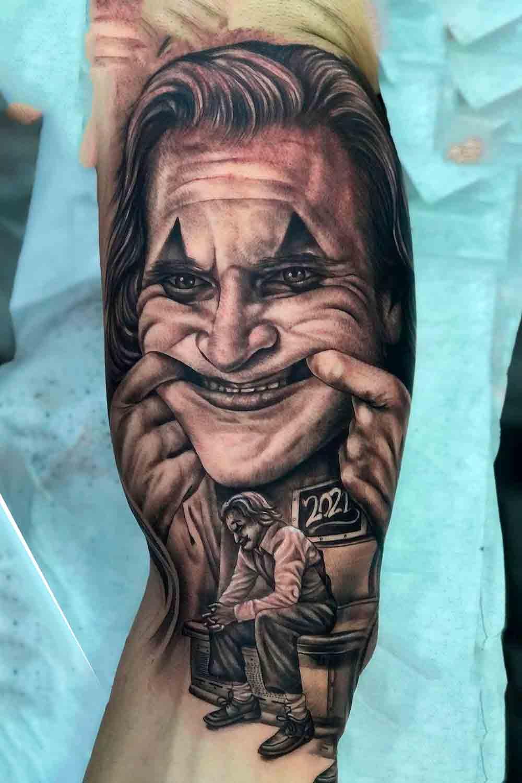 tatuagem-de-palhaco-coringa