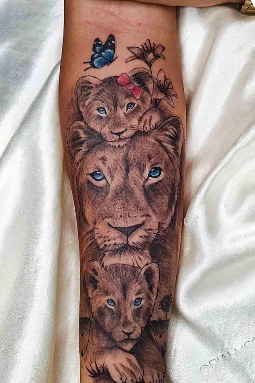 tatuagem-feminina-de-leao-no-antebraco-1