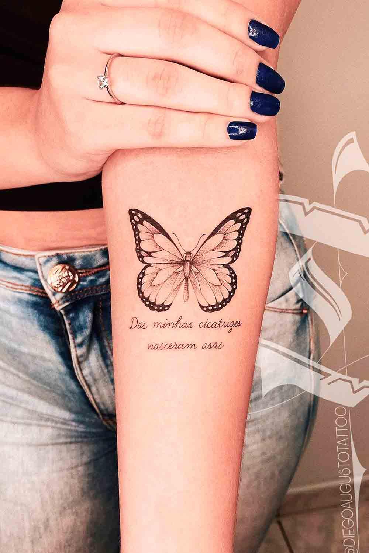 tatuagem-feminina-no-antebraco-de-borboleta