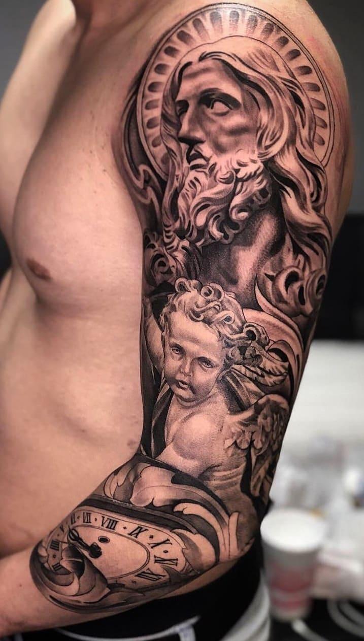 tatuagem-masculina-no-braço-119