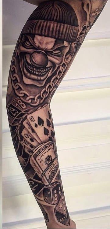 tatuagem-masculina-no-braço-9
