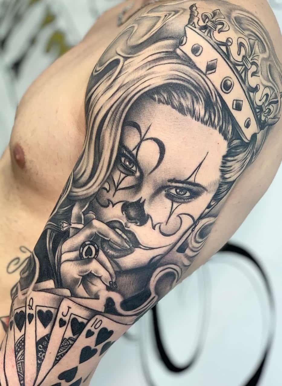 100 Tatuagens Masculinas Na Parte Superior Do Braço Fotos