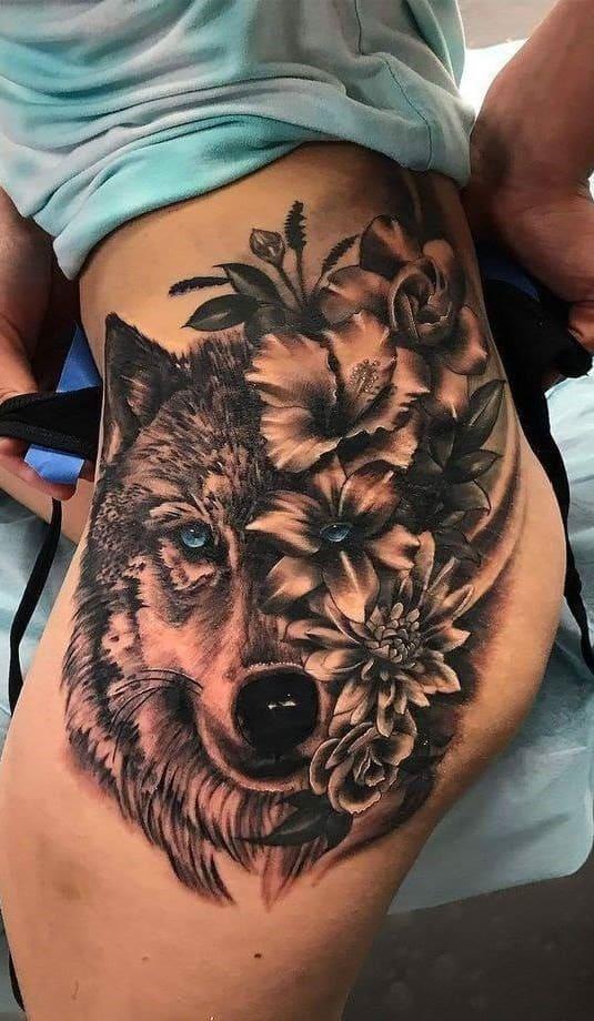fotos-de-tatuagens-femininas-de-lobo-10