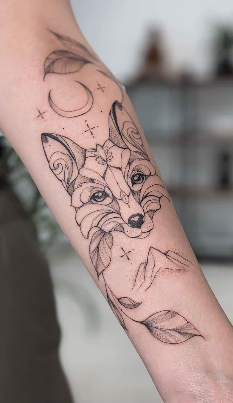 fotos-de-tatuagens-femininas-de-lobo-12