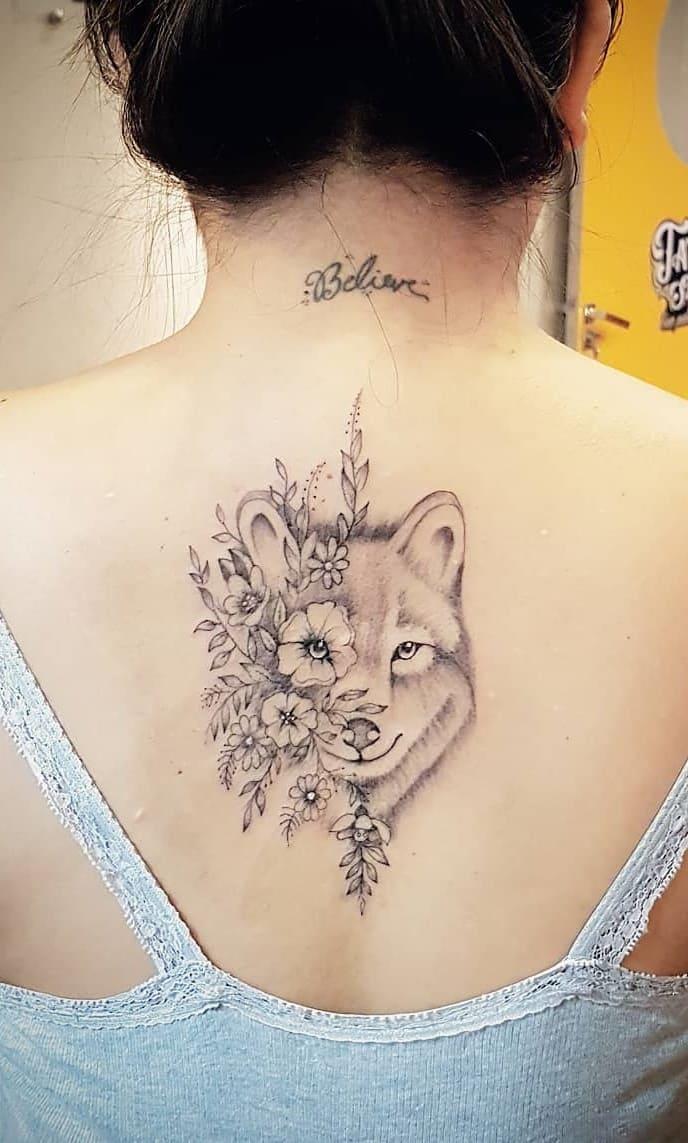fotos-de-tatuagens-femininas-de-lobo-13