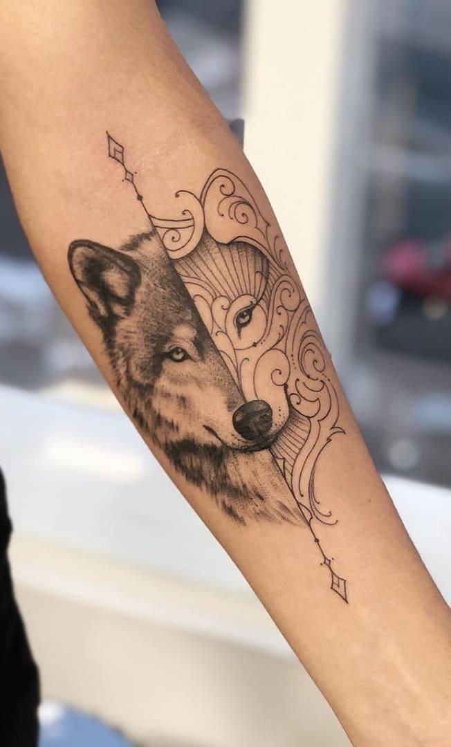 fotos-de-tatuagens-femininas-de-lobo-14