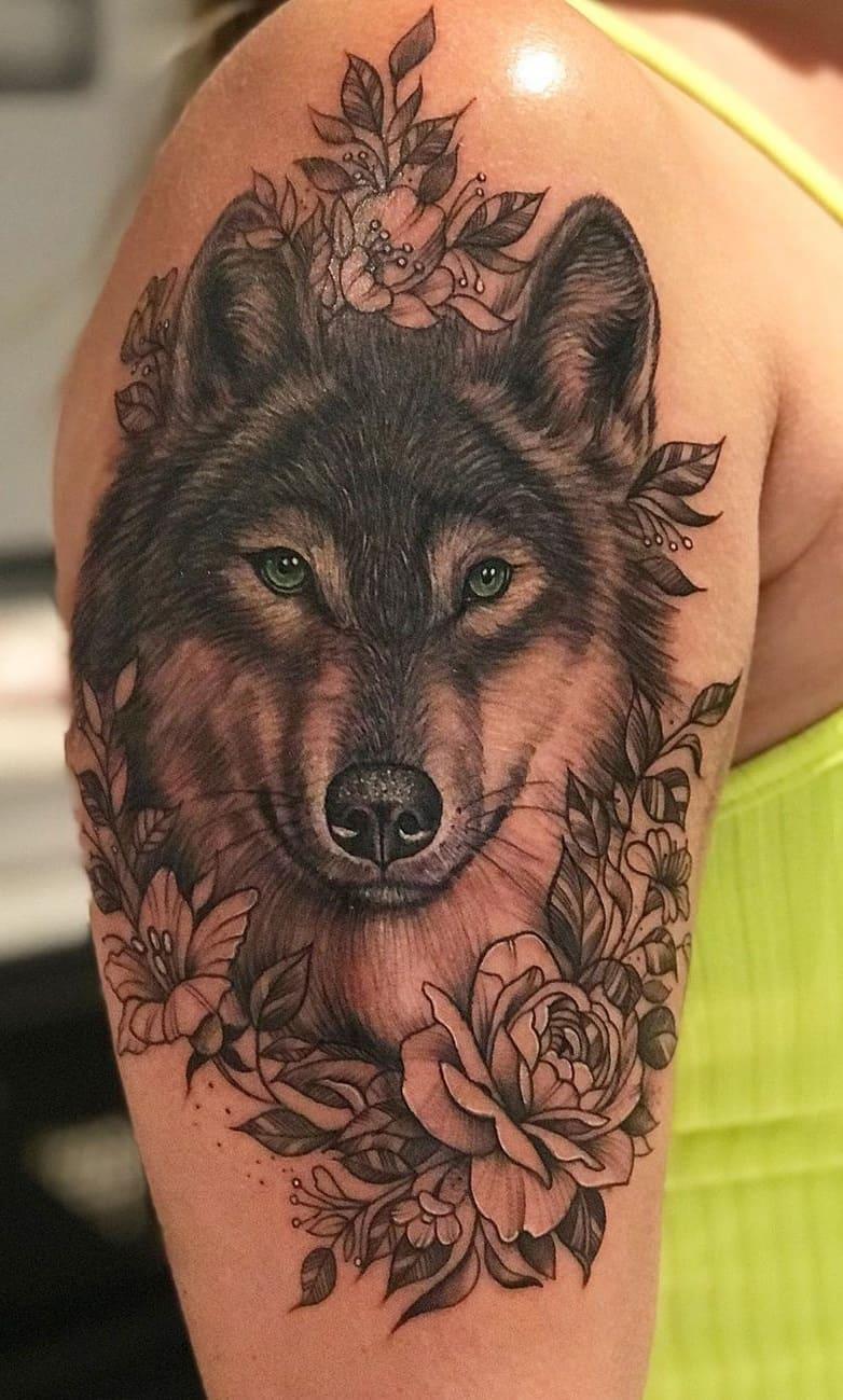 fotos-de-tatuagens-femininas-de-lobo-15