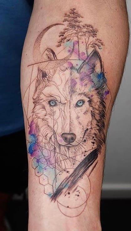 fotos-de-tatuagens-femininas-de-lobo-6