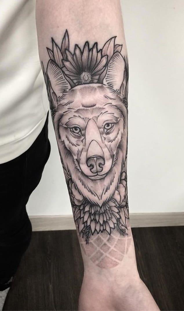 fotos-de-tatuagens-femininas-de-lobo-8