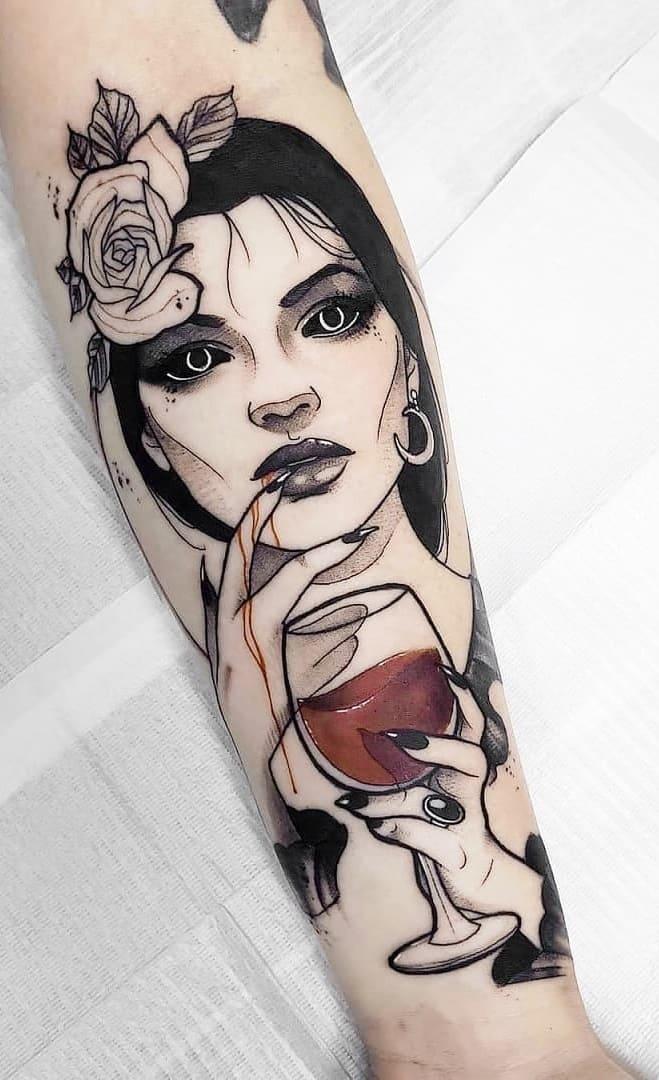 fotos-de-tatuagens-femininas-no-antebraço-2