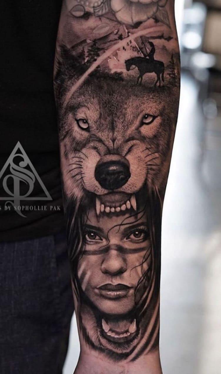 fotos-de-tatuagens-masculinas-de-lobo-12