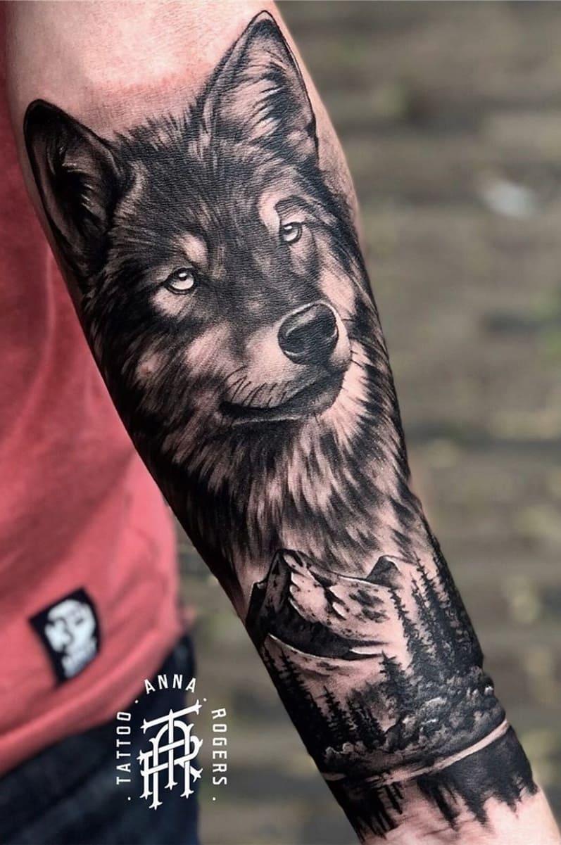 fotos-de-tatuagens-masculinas-de-lobo-13