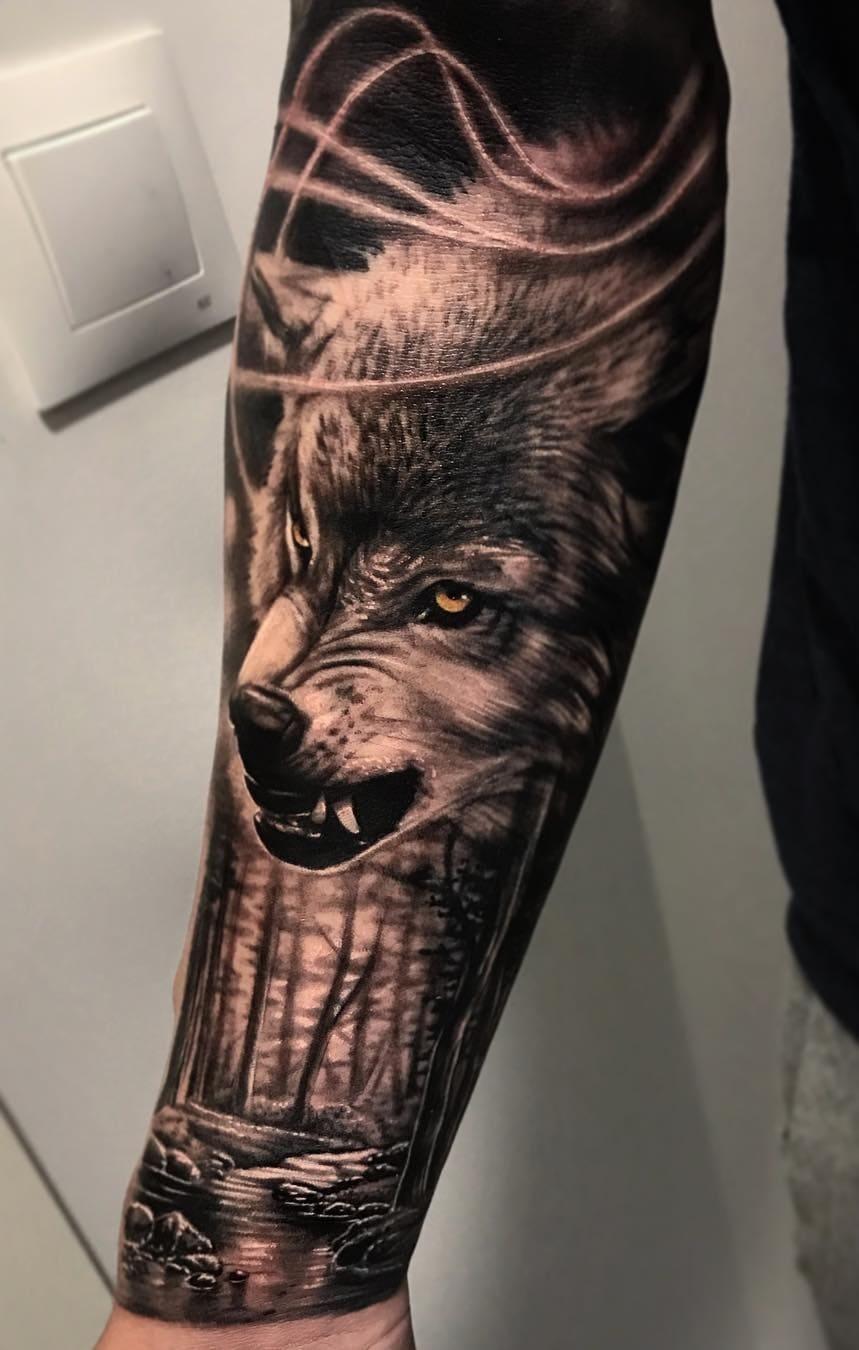 fotos-de-tatuagens-masculinas-de-lobo-2