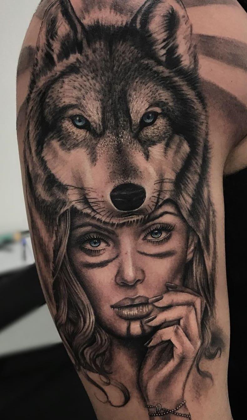 fotos-de-tatuagens-masculinas-de-lobo-21