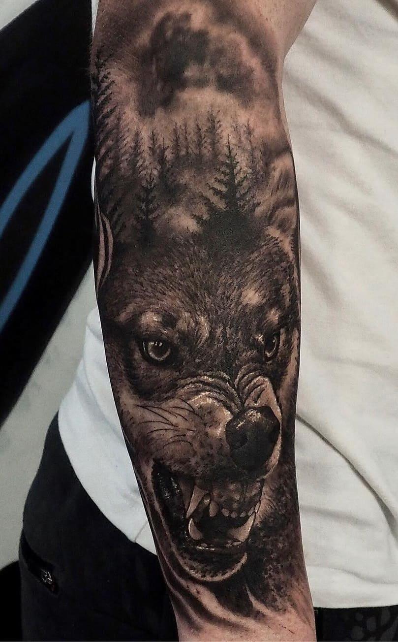fotos-de-tatuagens-masculinas-de-lobo-3