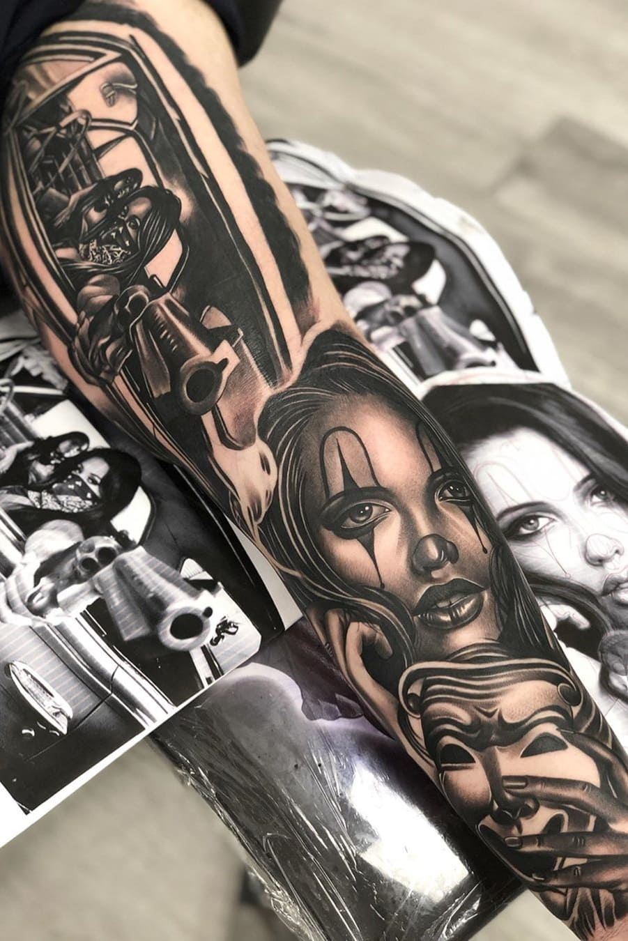 tatuagem-masculina-na-perna-26