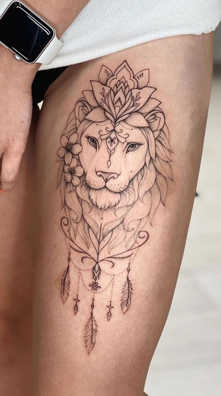 tatuagens-femininas-de-leao-2020-1