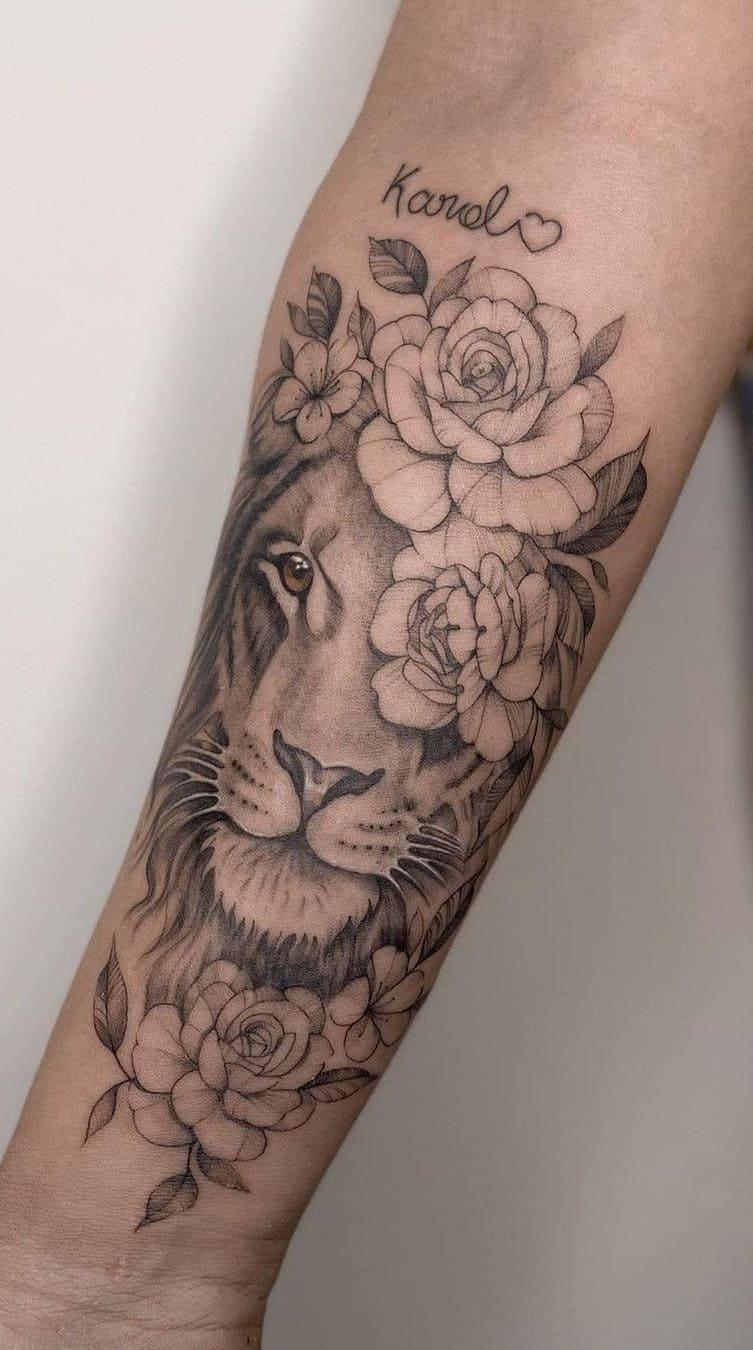tatuagens-femininas-de-leao-2020-3