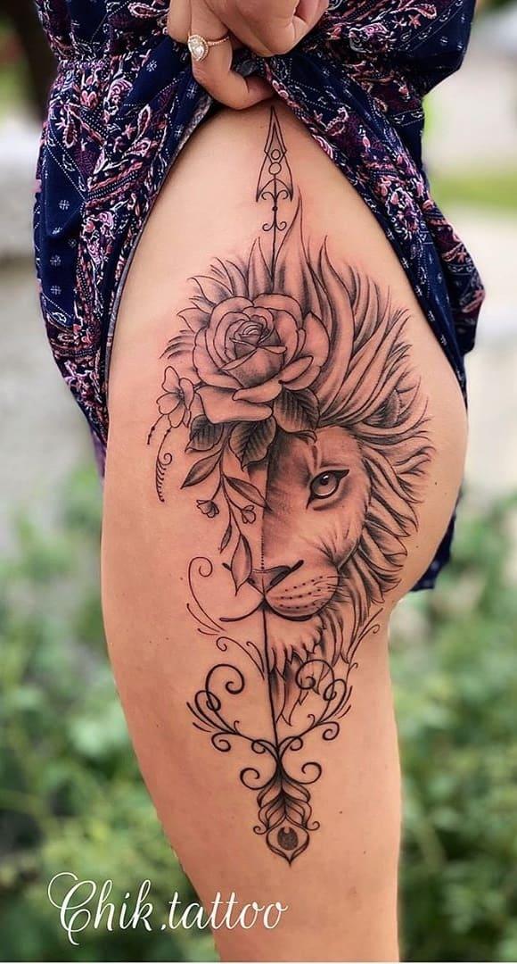 tatuagens-femininas-de-leao-2020-5