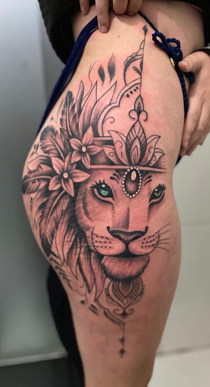 tatuagens-femininas-de-leao-2020-6