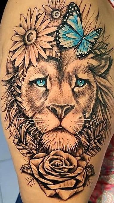 tatuagens-femininas-de-leao-2020-9