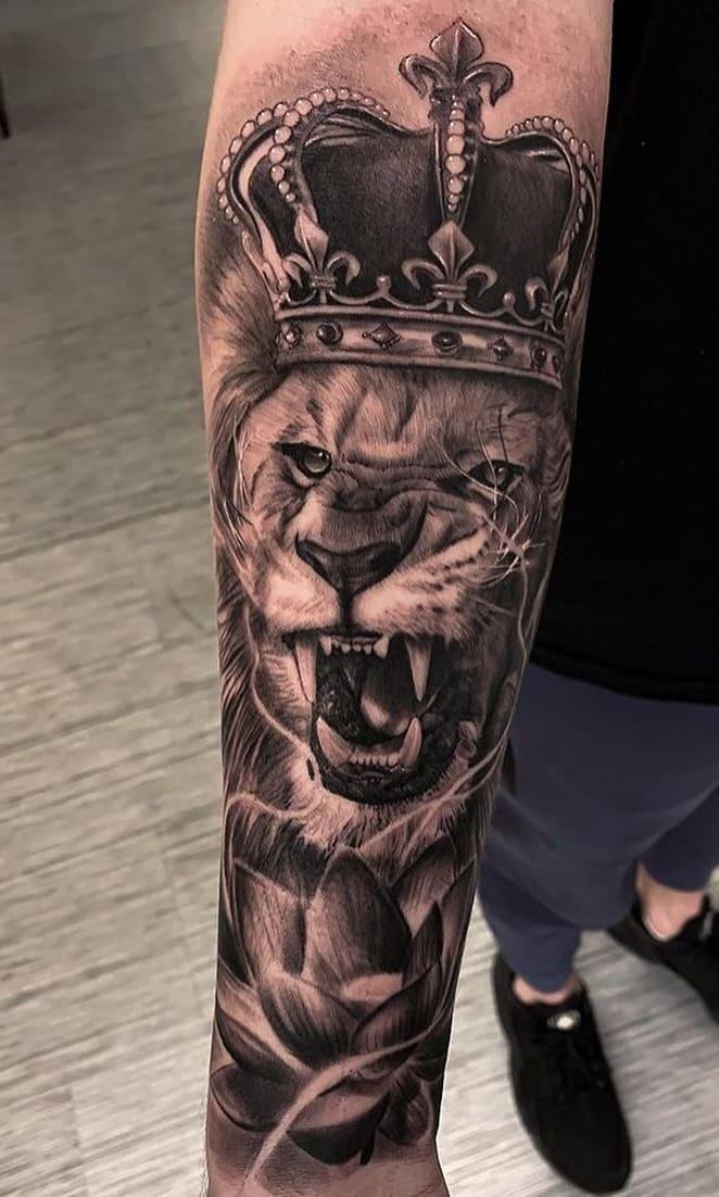 tatuagens-masculinas-de-leao-2020-13