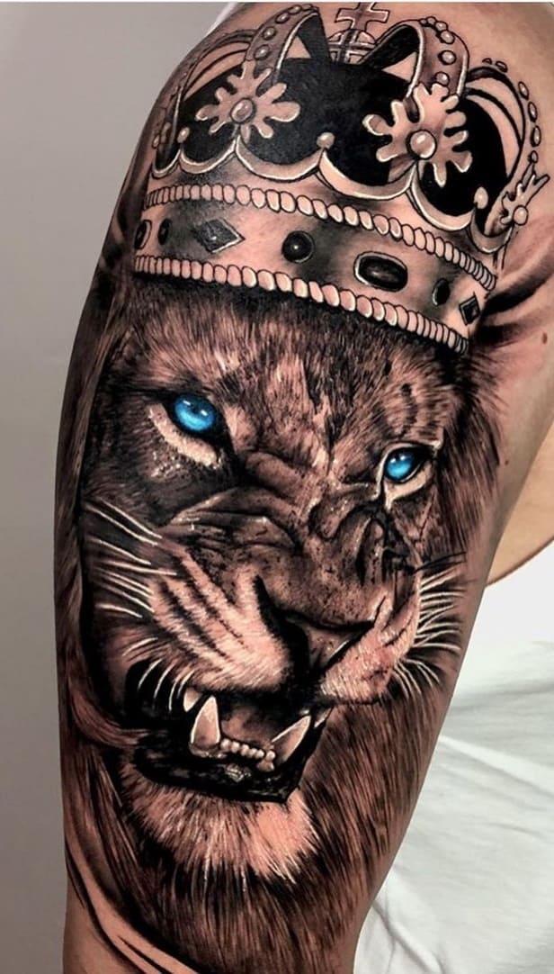 tatuagens-masculinas-de-leao-2020-17