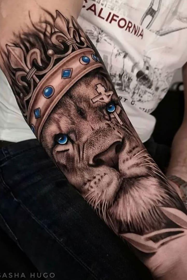 tatuagens-masculinas-de-leao-2020-2