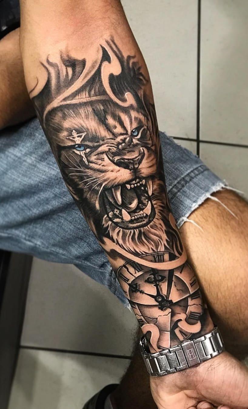 tatuagens-masculinas-de-leao-2020-5