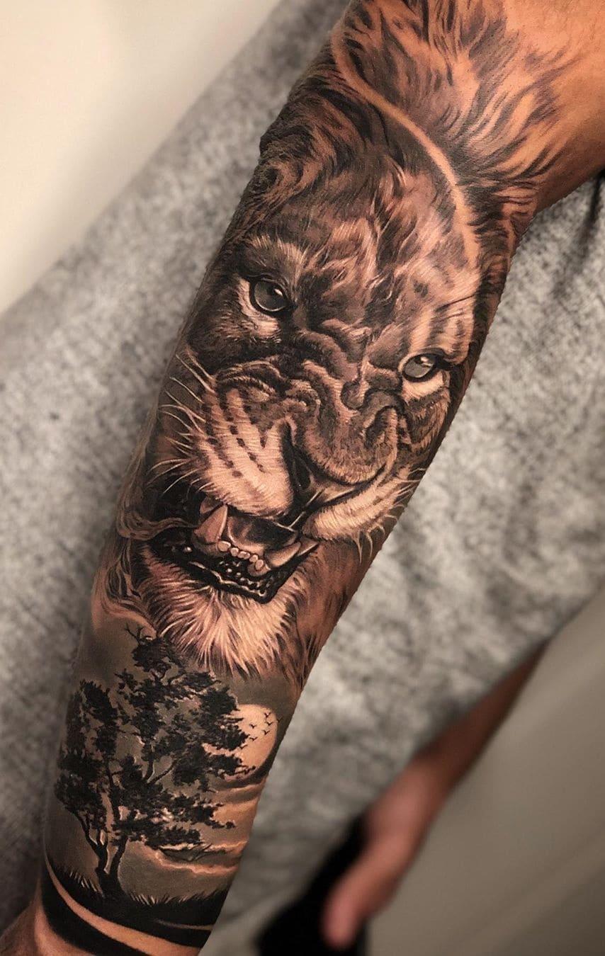 tatuagens-masculinas-de-leao-2020-7
