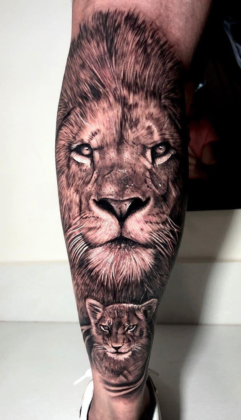 tatuagens-masculinas-de-leao-2020-9