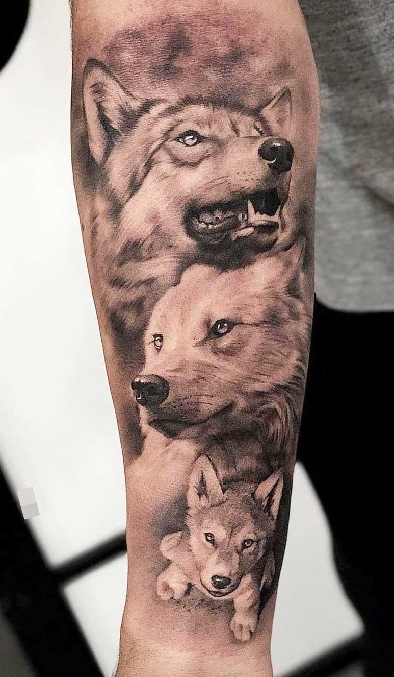 tatuagem-de-lobo-e-cachorro