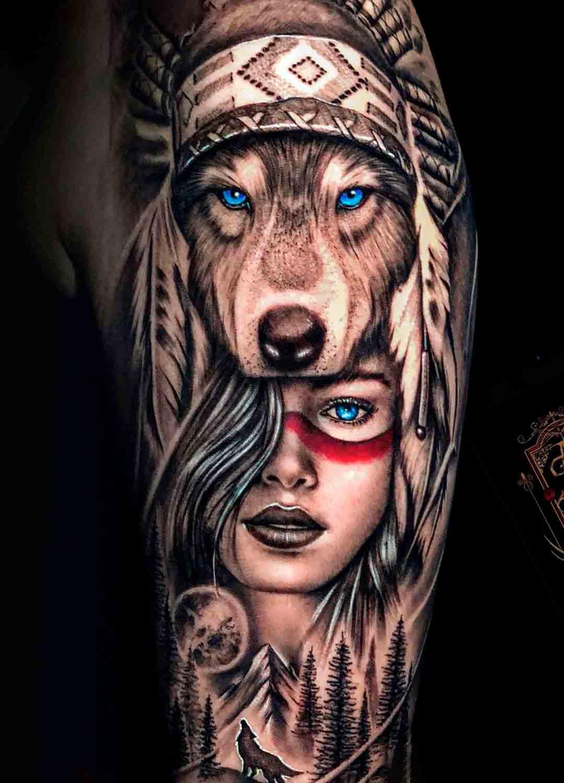 tatuagem-de-lobo-engolindo-mulher