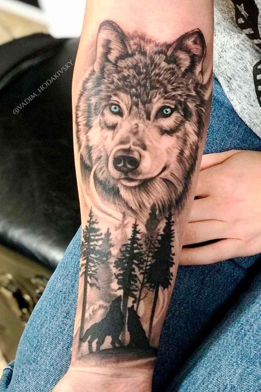 tatuagem-de-lobo-no-antebraco-2021