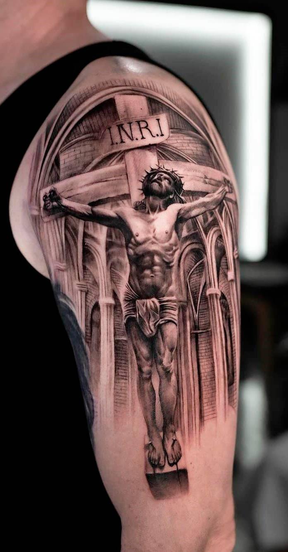 tatuagem-de-jesus-crucificado