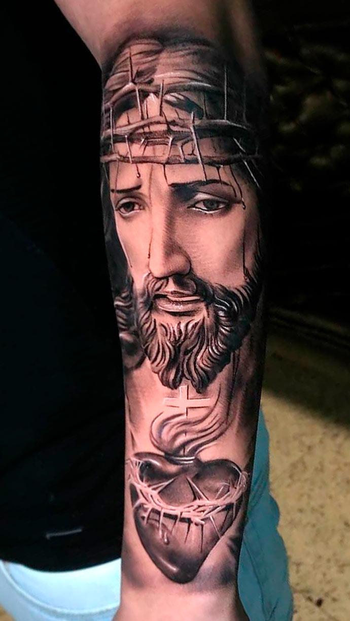 tatuagem-do-coracao-de-jesus