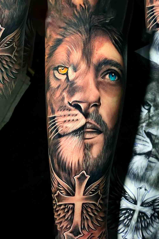 tatuagem-metade-leao-metade-jesus-1
