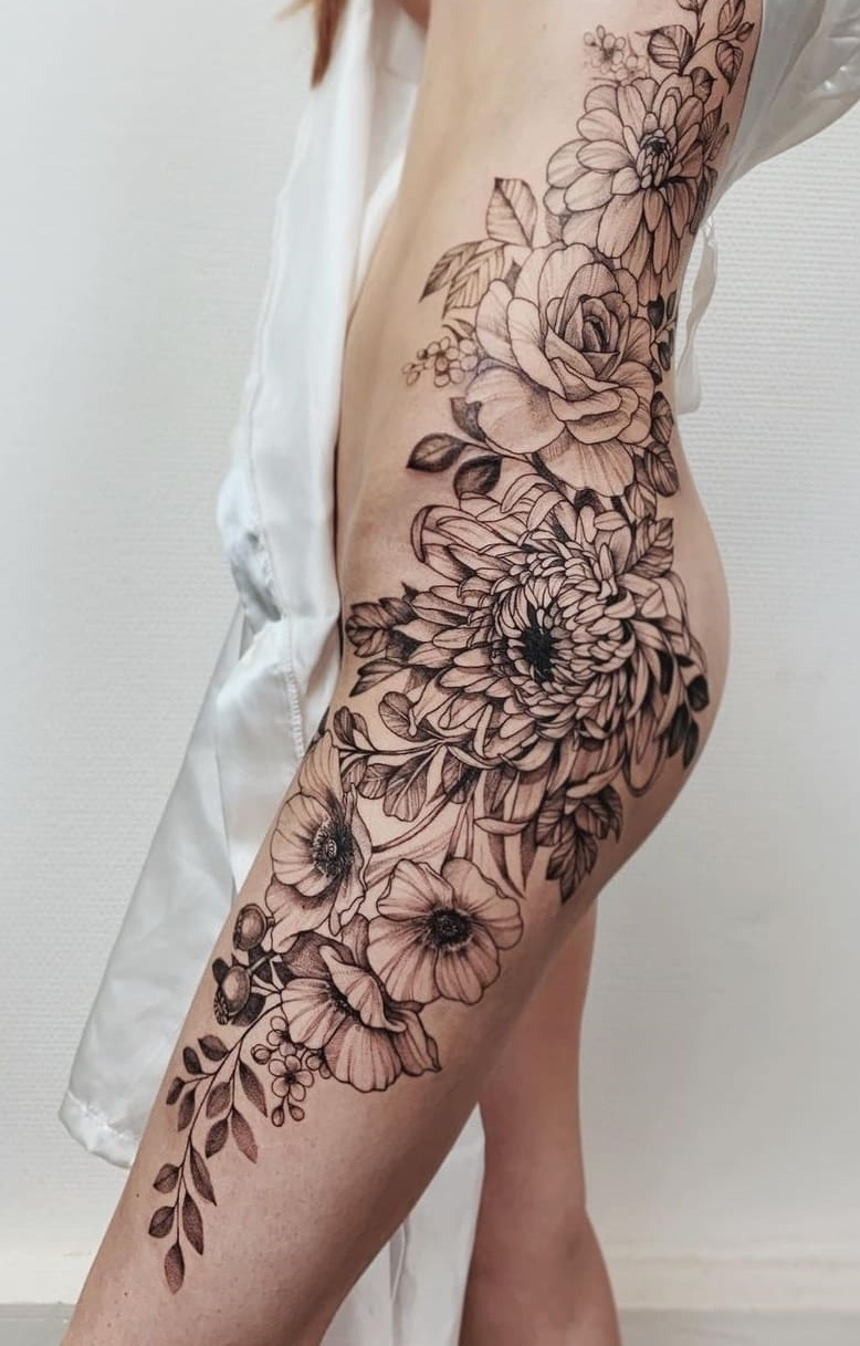 tatuagens-femininas-na-perna-2020-2