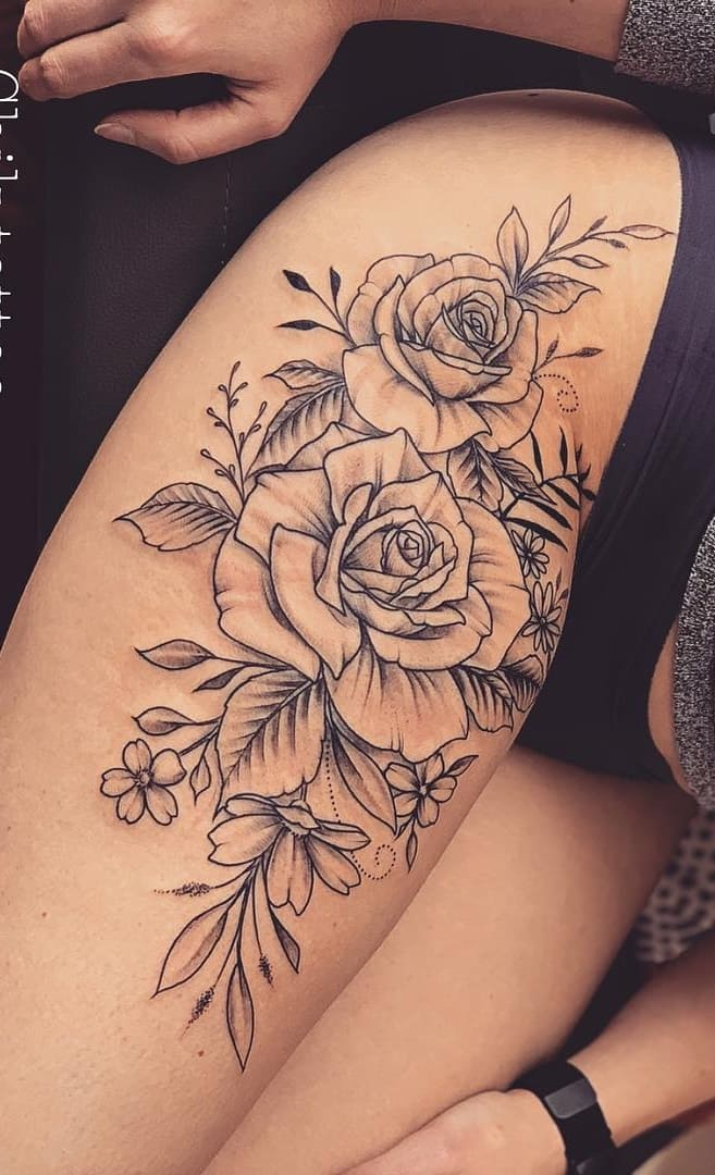 tatuagens-femininas-na-perna-2020-9