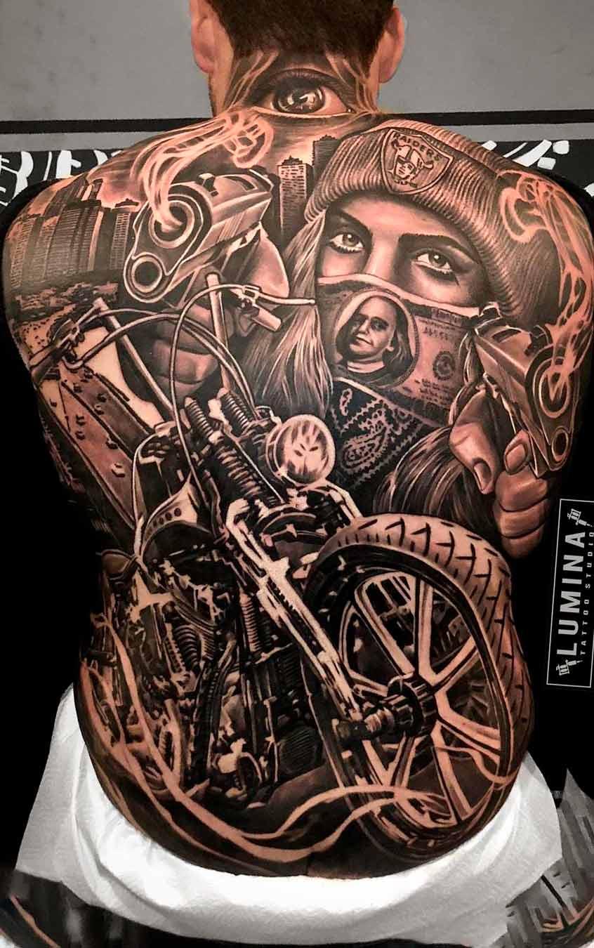 tatuagem-de-moto-nas-costas